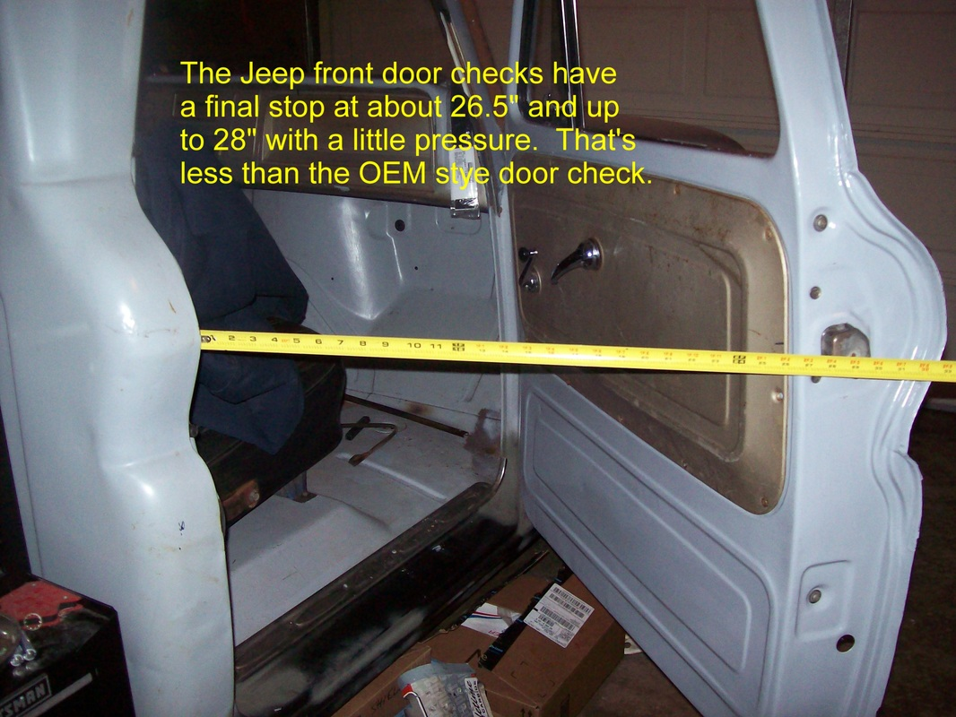 Jeep Cherokee Door Check Modification - Very Simple - Lugnutz65ChevyStepside & Jeep Cherokee Door Check Modification - Very Simple ...