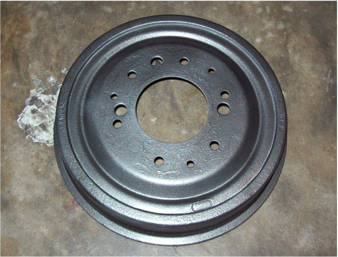 Rear Brake Drums - Lugnutz65ChevyStepside