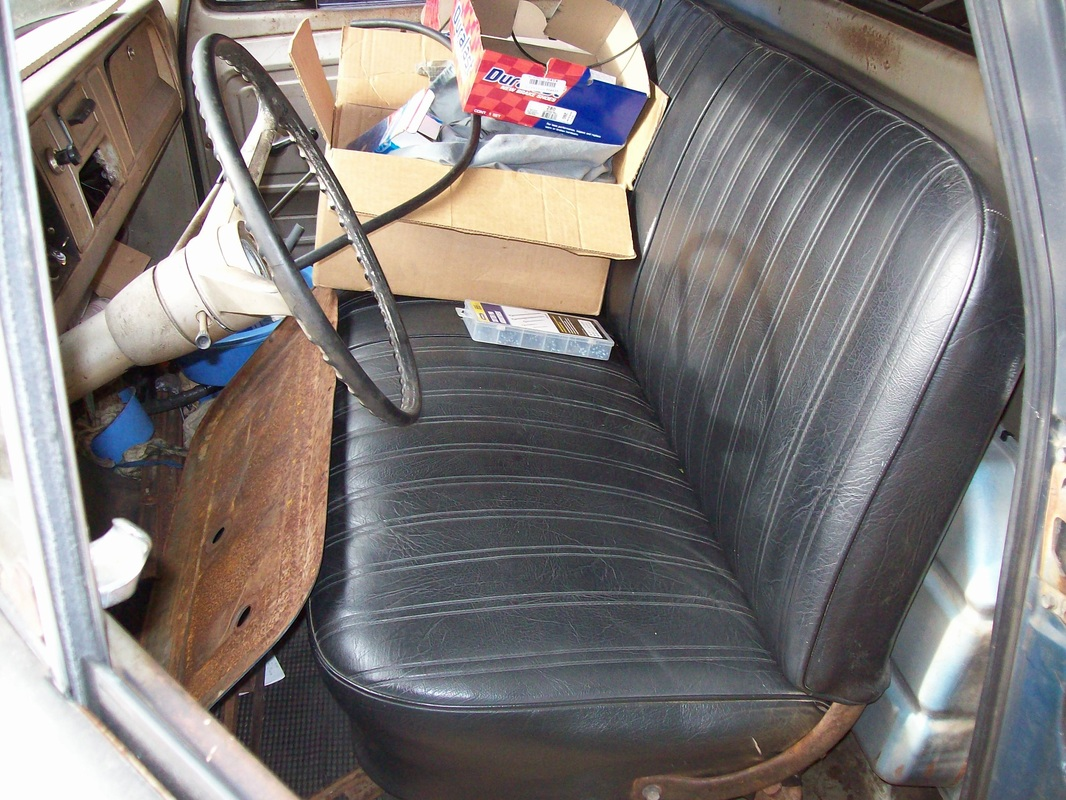 Remarkable Seat From A 1966 C10 Lugnutz65Chevystepside Uwap Interior Chair Design Uwaporg